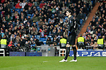 Real Madrid's Thibaut Courtois dejected during UEFA Champions League match. December,12,2018. (ALTERPHOTOS/Alconada)