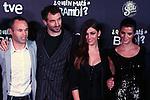 Premiere in Barcelona: ¿Quien mato a Bambi?<br /> Andres Iniesta, Julian Villagran, Ursula Corbero & Clara Lago