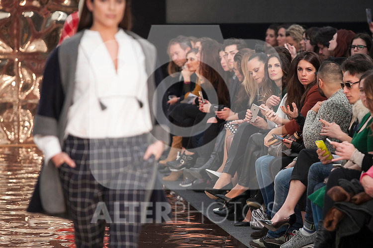 Couchel presentation at Madrid Fashion Show MSF in Madrid, Spain. February 10, 2016. (ALTERPHOTOS/Victor Blanco)