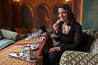 Europe/France/Ile de France/75011/Paris: Fatéma Hal,  dans son restaurant: Mansouria. 11, rue Faidherbe [Non destiné à un usage publicitaire - Not intended for an advertising use]