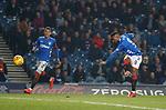 27.02.2019 Rangers v Dundee: Jermain Defoe lashes in goal no 4 for Rangers