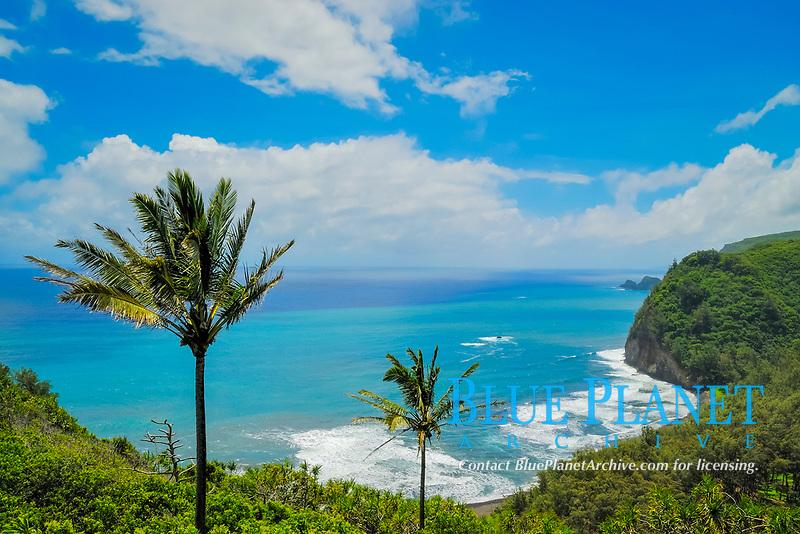 Pololu valley area, North Kohala coast, The Big Island of Hawaii