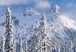Pinnacle Peak, 6,562 feet, Mount Rainier National Park, Washington