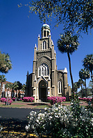 Savannah, Georgia, Congregation Michve Israel Temple built in 1733
