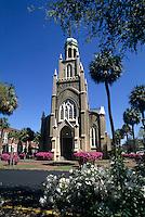 Savannah, Georgia, Congregation Michve Israel Temple built in 1733