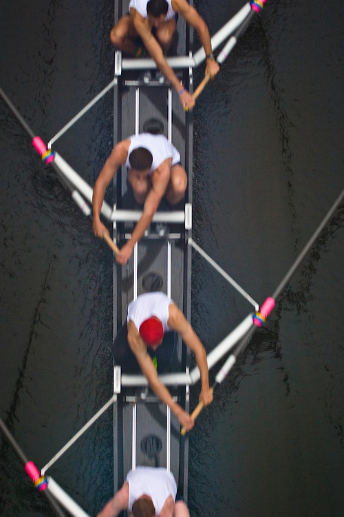 University of Washington men's, varsity crew, Rowing, race, Opening Day Regatta, Seattle, Washington,
