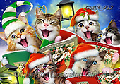 Howard, CHRISTMAS ANIMALS, WEIHNACHTEN TIERE, NAVIDAD ANIMALES, paintings+++++,GBHR932,#xa# ,selfies