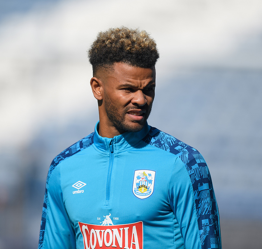 Huddersfield Town's Fraizer Campbell<br /> <br /> Photographer Dave Howarth/CameraSport<br /> <br /> The EFL Sky Bet Championship - Huddersfield Town v Norwich - Saturday September 12th 2020 - The John Smith's Stadium - Huddersfield<br /> <br /> World Copyright © 2020 CameraSport. All rights reserved. 43 Linden Ave. Countesthorpe. Leicester. England. LE8 5PG - Tel: +44 (0) 116 277 4147 - admin@camerasport.com - www.camerasport.com