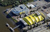 Neues Musical Theater Hamburg: EUROPA, DEUTSCHLAND, HAMBURG, (EUROPE, GERMANY), 06.09.2013 Neues Musical Theater Hamburg. Die Stage Entertainment GmbH  mit Sitz in Hamburg ist Veranstalter mehrerer Shows und Musicals, betreibt verschiedene Theater und unterhaelt Kooperationen mit anderen Unternehmen der Event-Branche. Sie gehoert zur niederlaendischen Stage Entertainment mit Sitz in Amsterdam.<br /> Der Geschaeftsfuehrer der deutschen Niederlassung ist seit September 2008 Johannes Mock-O'Hara. Im Oktober 2011 fand der Baubeginn fuer ein weiteres Musicaltheater in Hamburg statt, das sich genau neben dem Theater im Hafen Hamburg befinden wird, die Eroeffnung ist für 2014 vorgesehen.