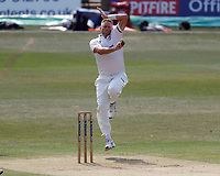 Mitch Claydon bowls for Sussex during Kent CCC vs Sussex CCC, Bob Willis Trophy Cricket at The Spitfire Ground on 9th August 2020
