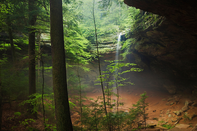 Spring storms at Ashe Cave