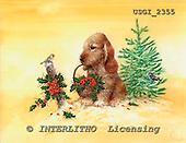 GIORDANO, CHRISTMAS ANIMALS, WEIHNACHTEN TIERE, NAVIDAD ANIMALES, paintings+++++,USGI2355,#XA#