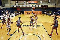 SAN ANTONIO, TX - JANUARY 25, 2018: The University of Texas at San Antonio Roadrunners fall to the Florida Atlantic University Owls 99-65 at the UTSA Convocation Center. (Photo by Jeff Huehn)