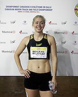 March 15, 2014 - AC indoor Open - day 2 -Karine Belleau-Beliveau