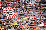 Atletico de Madrid's supporters during La Liga match. October 4,2015. (ALTERPHOTOS/Acero)