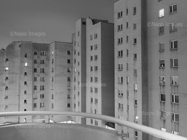 Warsaw 19.01.2020 Poland<br /> Residental Houses in Warsaw<br /> Photo: Adam Lach