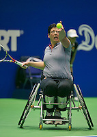 19-12-13,Netherlands, Rotterdam,  Topsportcentrum, Tennis Masters, Kitty Schulpen (NED)   <br /> Photo: Henk Koster