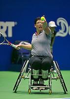 19-12-13,Netherlands, Rotterdam,  Topsportcentrum, Tennis Masters, Kitty Schulpen (NED)   <br /> Photo: Henk Koster