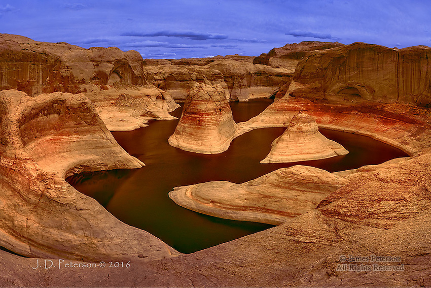 Reflection Canyon, Lake Powell (Infrared)