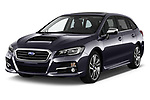 2017 Subaru Levorg GT-S Premium 5 Door Wagon angular front stock photos of front three quarter view