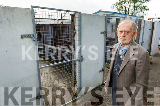 Harry McDaid at the KSPCA centre in Tralee on Friday.