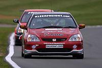 Round 9 of the 2002 British Touring Car Championship. #52 James Kaye (GBR). Synchro Motorsport. Honda Civic Type-R.