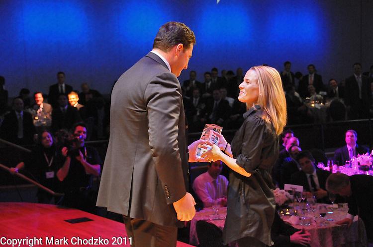Award winner at the Nobel Biocare national sales meeting and awards banquet.