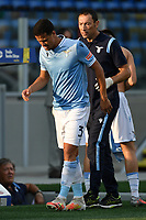 Luiz Felipe Ramos Marchi of SS Lazio leaves the pitch after his injured during the friendly football match between Frosinone calcio and SS Lazio at Benito Stirpe stadium in Frosinone (Italy), September 12th, 2020. SS Lazio won 1-0 over Frosinone. Photo Andrea Staccioli / Insidefoto