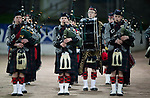 St Johnstone v St Mirren….27.03.19   McDiarmid Park   SPFL<br />The Glenalmond College Pipe Band entertain the crowds before kick off<br />Picture by Graeme Hart. <br />Copyright Perthshire Picture Agency<br />Tel: 01738 623350  Mobile: 07990 594431