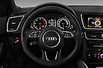 Car pictures of steering wheel view of a 2016 Audi Q5 5 Door Suv Steering Wheel