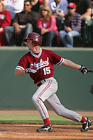 April 3 2010: Christian Griffiths of the Stanford Cardinal during game against the UCLA Bruins at UCLA in Los Angeles,CA.  Photo by Larry Goren/Four Seam Images