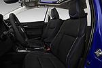 Front seat view of 2018 Toyota Corolla XSE-AT 4 Door Sedan Front Seat  car photos