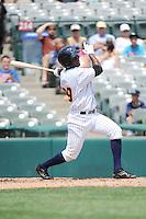 Trenton Thunder infielder Jose Toussen (29) during game against the Binghamton Mets at ARM & HAMMER Park on July 27, 2014 in Trenton, NJ.  Trenton defeated Binghamton 7-3.  (Tomasso DeRosa/Four Seam Images)