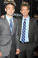 BEVERLY HILLS, CA - FEBRUARY 27: Cody Walker, Caleb Walker at the 3rd Annual Noble Awards at the  Beverly Hilton Hotel in Beverly Hills, California on February 27, 2015. Credit: David Edwards/DailyCeleb/MediaPunch