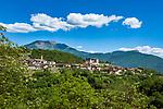 Italy, Trentino, Tenno: mountain village north of Lake Garda   Italien, Trentino, Tenno: Bergdorf noerdlich des Gardasees
