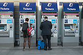 Ticket machines at London Bridge railway station