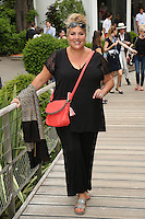 Marianne James seen at 'Le Village de Roland Garros during Roland Garros tennis open 2016 on may 28 2016.