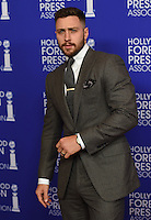 Aaron Taylor-Johnson @ the HFPA Annual grants banquet held @ the Regent Beverly Wilshire hotel.<br /> August 4, 2016