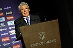 Atletico de Madrid's President Enrique Cerezo. July 12, 2019. (ALTERPHOTOS/Acero)
