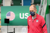 BELFAST, NORTHERN IRELAND - MARCH 28: USMNT head coach Gregg Berhalter before a game between Northern Ireland and USMNT at Windsor Park on March 28, 2021 in Belfast, Northern Ireland.