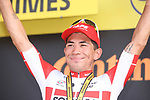 Caleb Ewan (AUS) Lotto-Soudal wins Stage 16 of the 2019 Tour de France running 177km from Nimes to Nimes, France. 23rd July 2019.<br /> Picture: Colin Flockton   Cyclefile<br /> All photos usage must carry mandatory copyright credit (© Cyclefile   Colin Flockton)