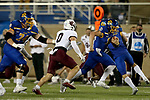 BROOKINGS, SD - MAY 2: Mark Gronowski #11 of the South Dakota State Jackrabbits breaks loose for a 67 yard touchdown against the Southern Illinois Salukis at Dana J Dykhouse Stadium on May 2, 2021 in Brookings, South Dakota. (Photo by Dave Eggen/Inertia)