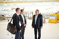 Portrait und Interview mit Oscar J. Schwenk, Verwaltungsratspraesident der Pilatus Aircraft Ltd. am Unternehmenssitz in Stans am 19. Juni 2012..Copyright © Zvonimir Pisonic