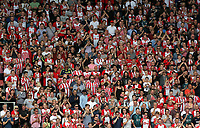Southampton supporters during the Premier League match between Southampton and Swansea City at the St Mary's Stadium, Southampton, England, UK. Saturday 12 August 2017