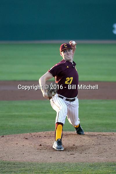 Nick Deeg - 2016 Central Michigan Chipewas (Bill Mitchell)