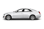 Car Driver side profile view of a 2016 Cadillac CTS Luxury Collection 4 Door sedan Side View