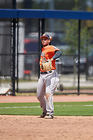 Houston Astros Randy Cesar (17) during a minor league Spring Training game against the Washington Nationals on March 28, 2017 at the FITTEAM Ballpark of the Palm Beaches in West Palm Beach, Florida.  (Mike Janes/Four Seam Images)
