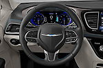 Car pictures of steering wheel view of a 2021 Chrysler Pacifica Touring-L 5 Door Minivan Steering Wheel
