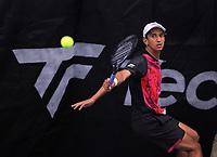 Men's Singles final - Ajeet Rai (pictured) v Isaac Becroft. 2020 New Zealand Championships Wellington Tennis Open finals at Renouf Centre in Wellington, New Zealand on Sunday, 20 December 2020. Photo: Dave Lintott / lintottphoto.co.nz