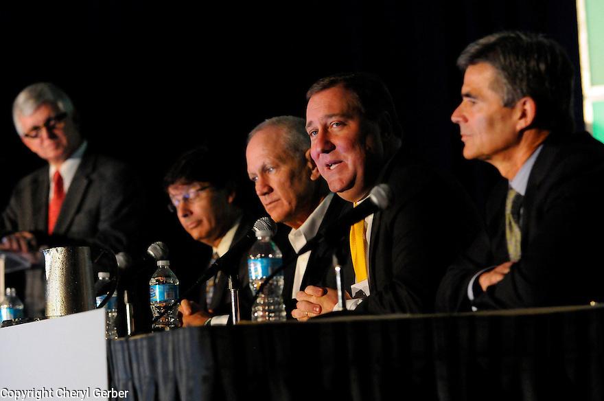 Sports panel at Tulane Business Forum, 2012